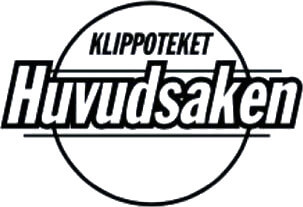 Logo Klippoteket Huvudsaken