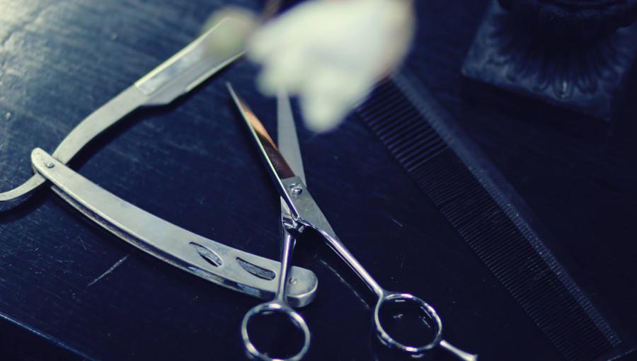 Stor stämningsbild Peggis Barber Shop HB