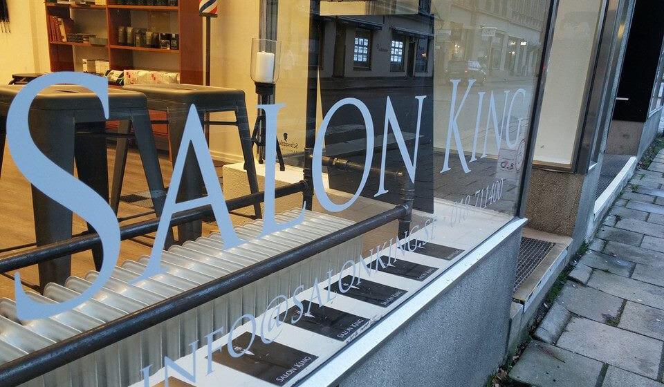 Stor stämningsbild Salon King