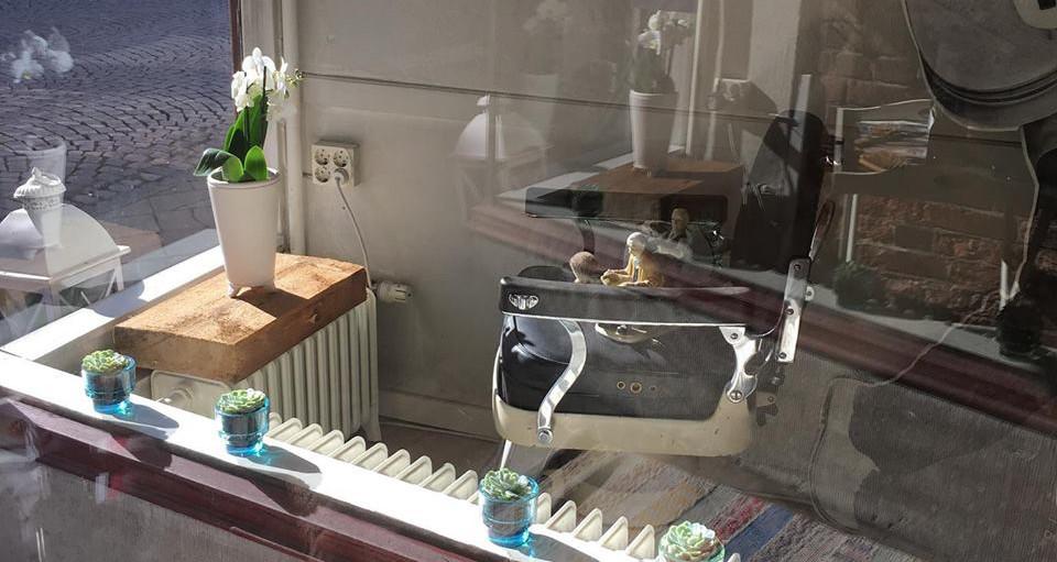 Stor stämningsbild Sanna's Frisör & Shop