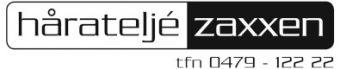 Logo Håratelje Zaxxen