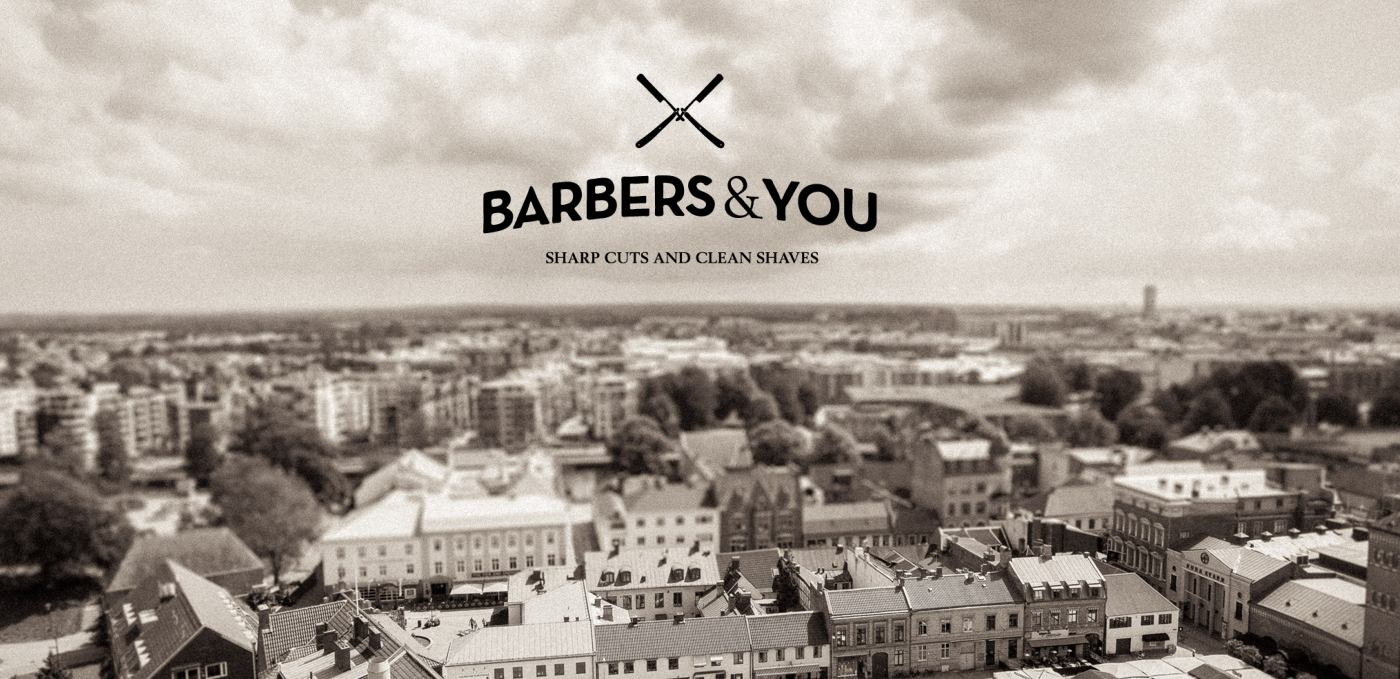 Stor stämningsbild Barbers & You