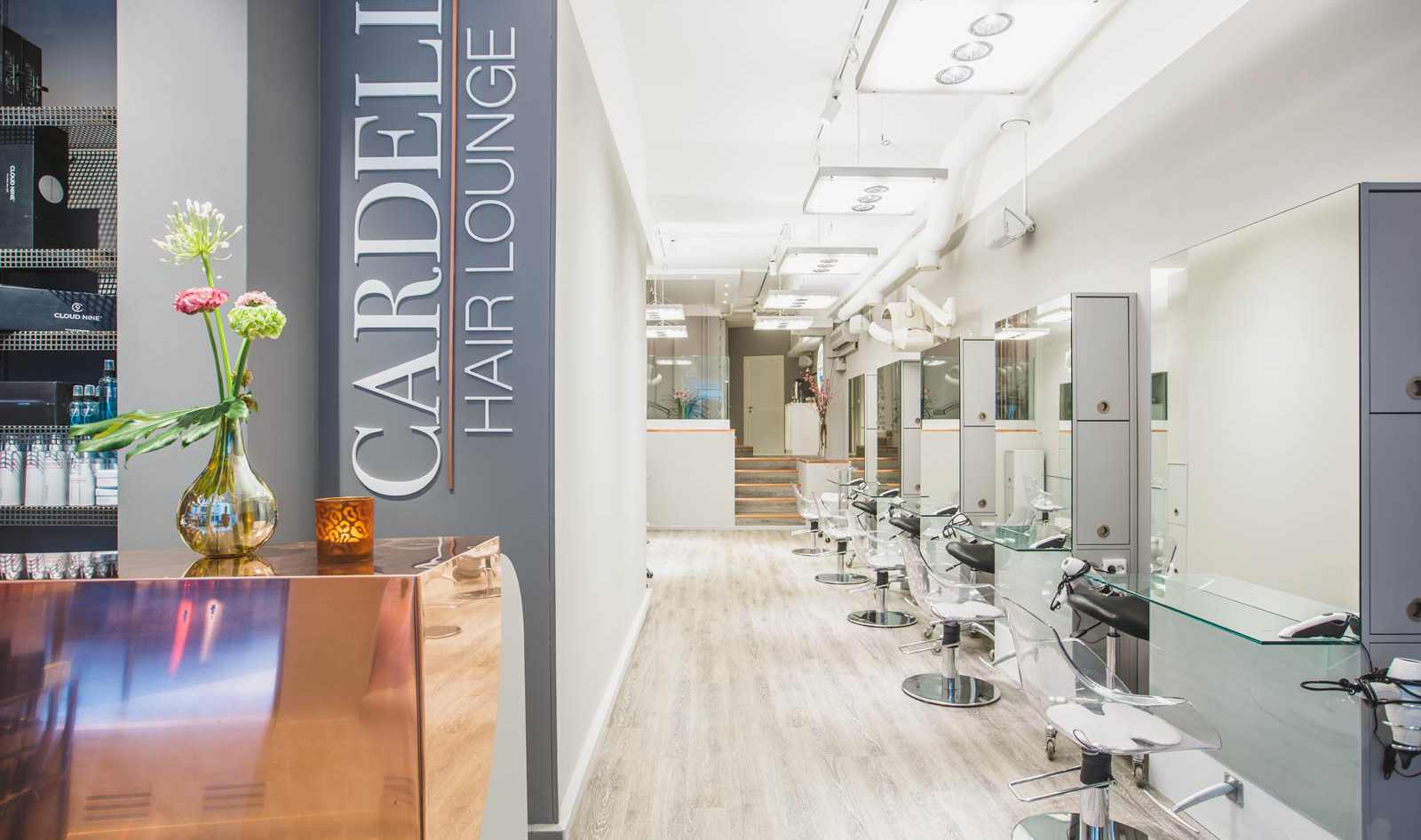 Stor stämningsbild Cardell Hair Lounge