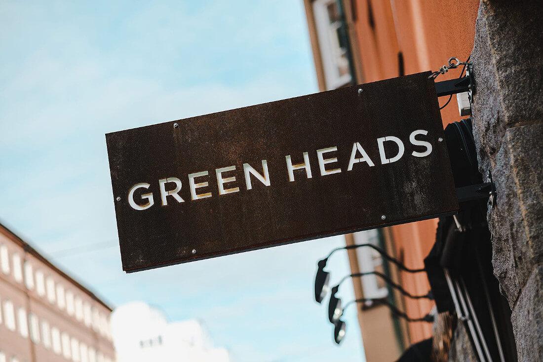 Stor stämningsbild Green Heads Sofo