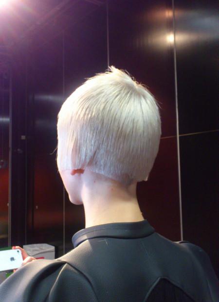 Tuffa frisyrer finns att välja mellan.