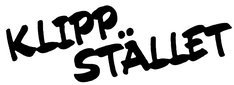 Logo Klippstället