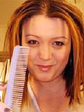 Natasa frisör på Salong Beauty World