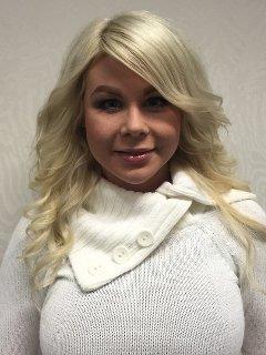 Emma frisör på Salong Team