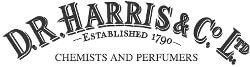 Logotyp varumärke Dr Harris