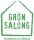 Logotyp varumärke Grön Salong