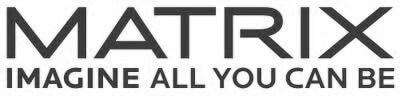 Logotyp varumärke Matrix