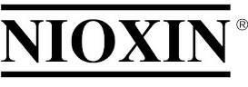 Logotyp varumärke nioxin