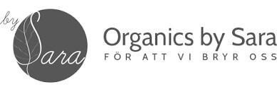 Logotyp varumärke Organics By Sara