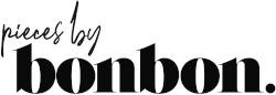 Logotyp varumärke pieces by bonbon