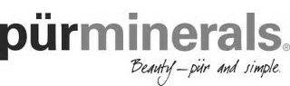 Logotyp varumärke Pur minerals